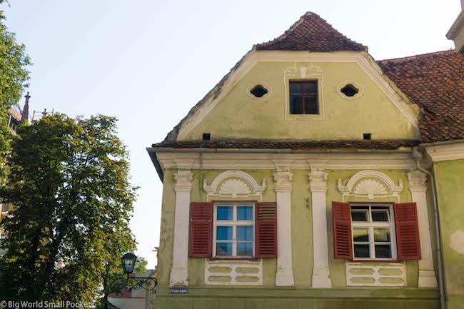 Romania, Transylvania, House