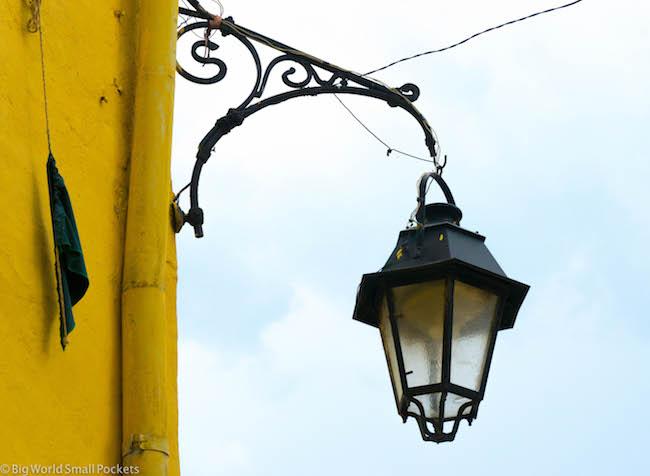 Romania, Transylvania, Street Lamp