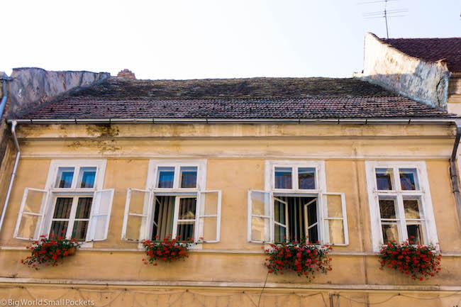 Romania, Transylvania, Windows