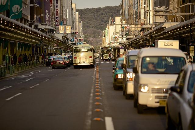 Street Scene, Traffic, 2 Lanes