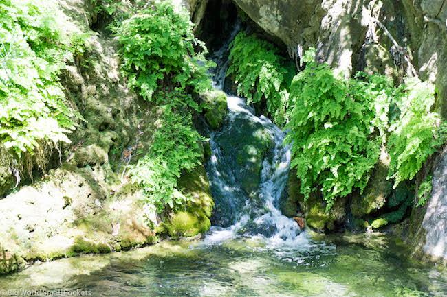 Turkey, Kabak, Waterfall