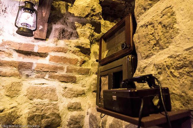 Ukraine, Lviv, Bunker Restaurant