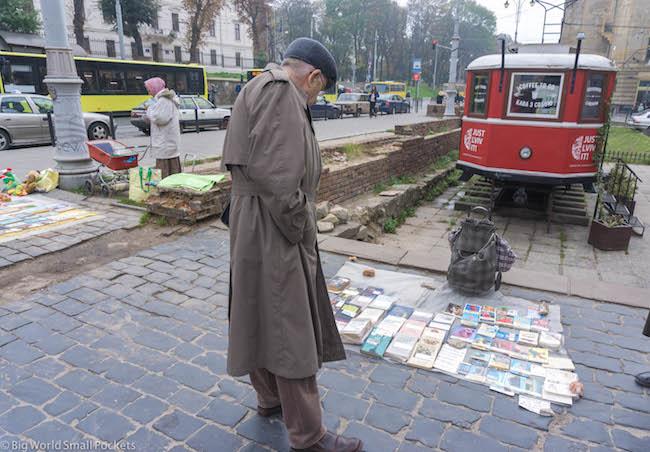 Ukraine, Lviv, Flea Market