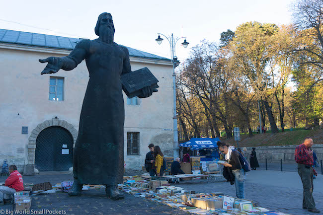 Ukraine, Lviv, Market