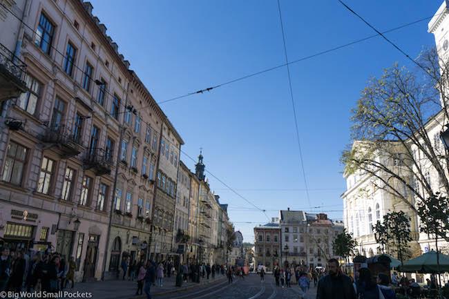 Ukraine, Lviv, Rynok Square