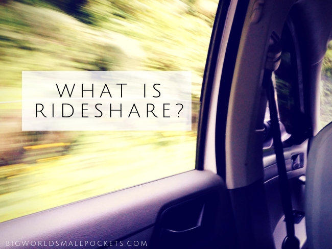 What is Rideshare Title