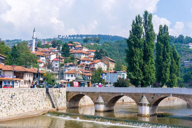 Bosnia, Sarajevo, Bridge 1