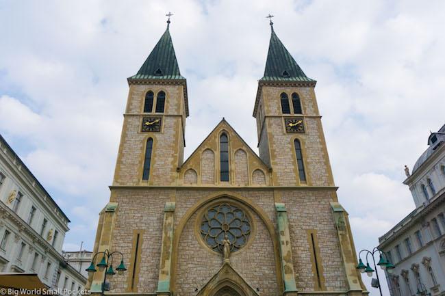 Bosnia, Sarajevo, Cathedral