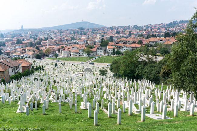 Bosnia, Sarajevo, Cemetery