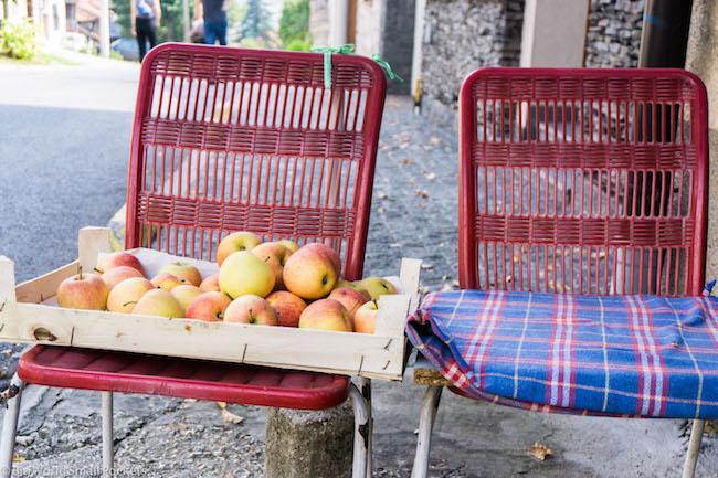 Bosnia, Sarajevo, Fruit Stall