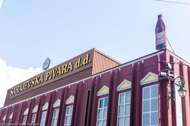 Bosnia, Sarajevo, Old Brewery