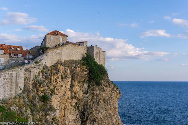 Croatia, Dubrovnik, Walls