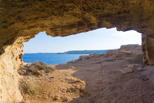 Cyprus, Cape Greco, Cave