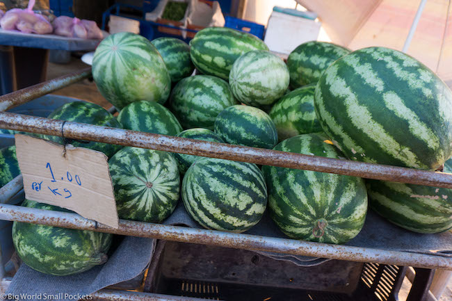 Cyprus, Cape Greco, Watermelons