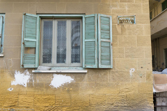 Cyprus, Nicosia, Window