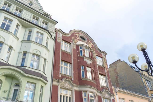 Czech Republic, Ostrava, Buildings