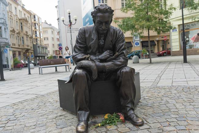 Czech Republic, Ostrava, Sculpture