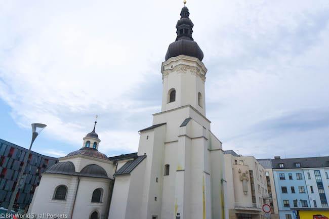 Czech Republic, Ostrava, St Wenceslas' Church