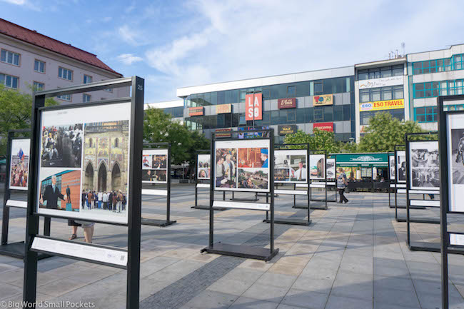 Czech Republic, Ostrava, Street Exhibition