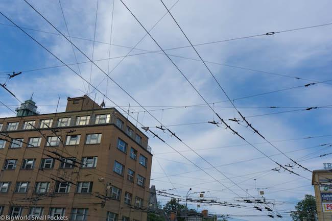 Czech Republic, Ostrava, Tram Lines