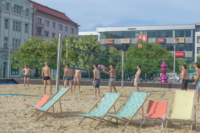 Czech Republic, Ostrava, Volleyball