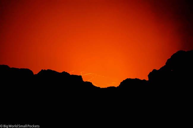 Ethiopia, Danakil, Volcano Fire