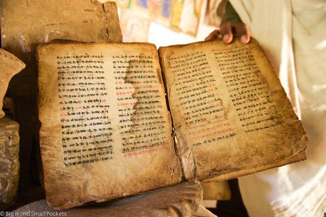 Ethiopia, Yeha, Old Bible