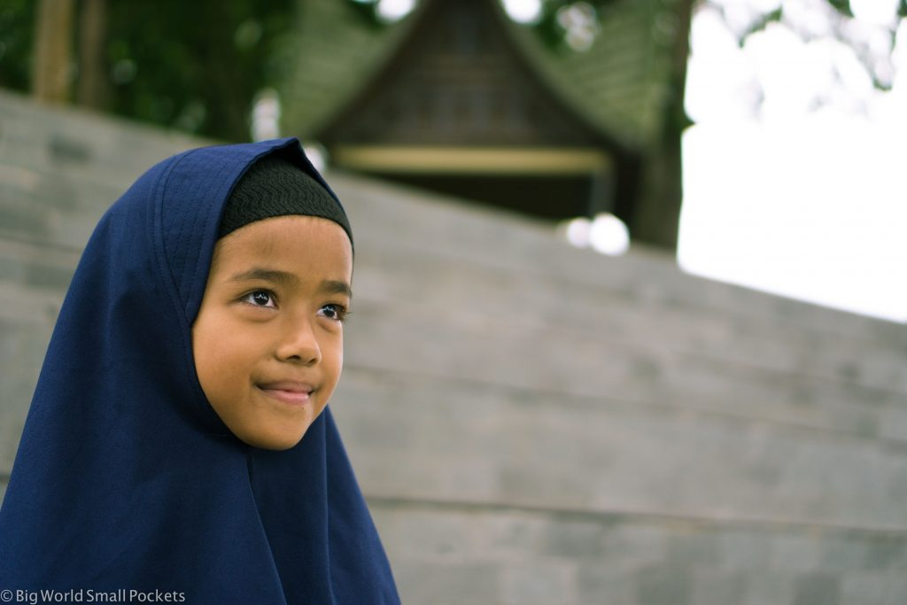Indonesia, Bukittinggi, Girl
