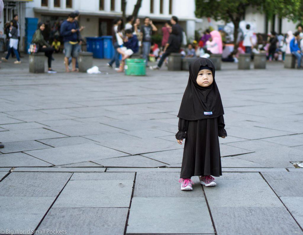 Indonesia, Jakarta, Girl