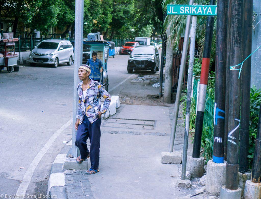 Indonesia, Jakarta, Man on Street