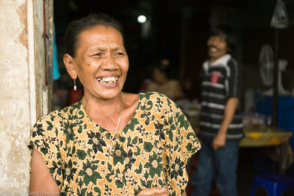 Indonesia, Jakarta, Old Woman