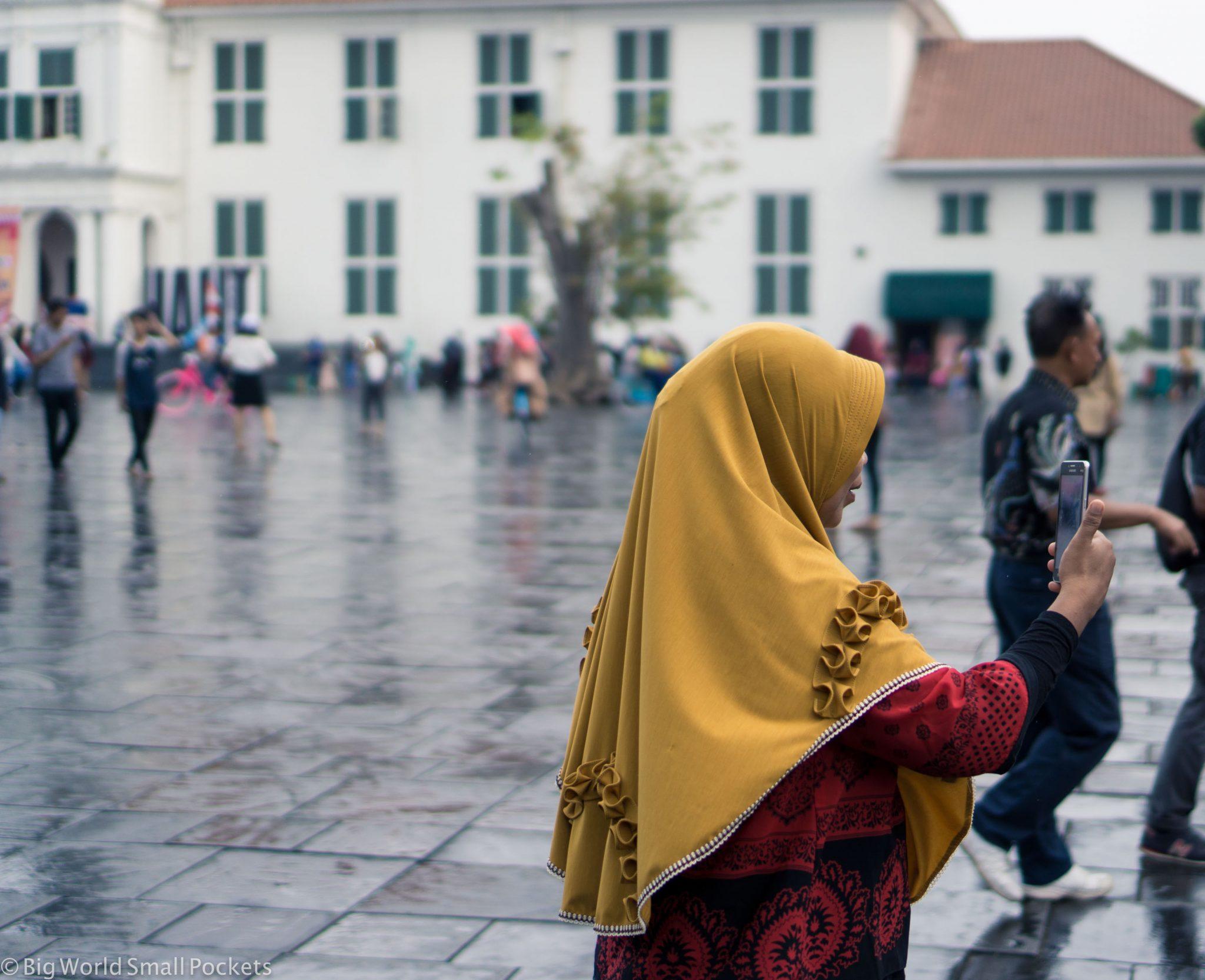 Indonesia, Jakarta, Woman