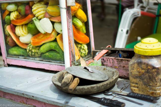 Indonesia, Yogyakarta, Fruit Stall