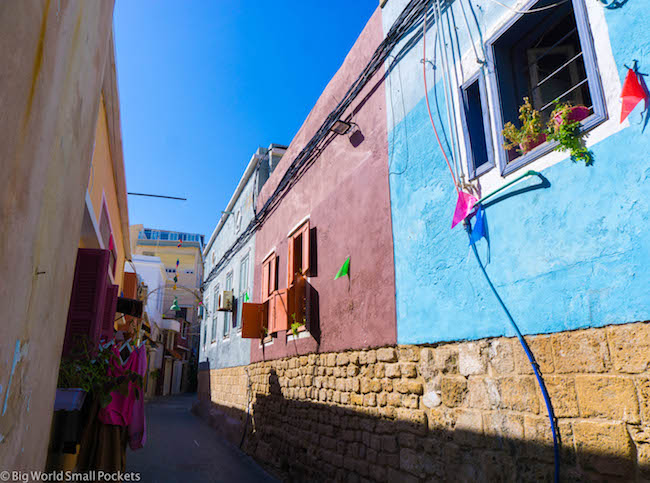 Lebanon, Tyre, Coloured Houses
