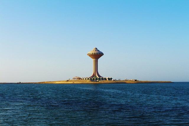 Saudi Arabia, Coast, Landmark