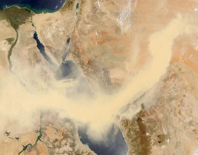 Saudi Arabia, Map, Aerial