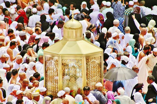 Saudi Arabia, Pilgrimage, Crowd