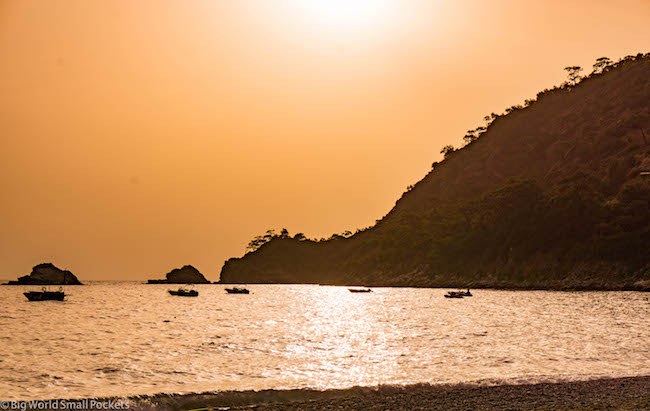 Turkey, Kabak, Sunset Orange