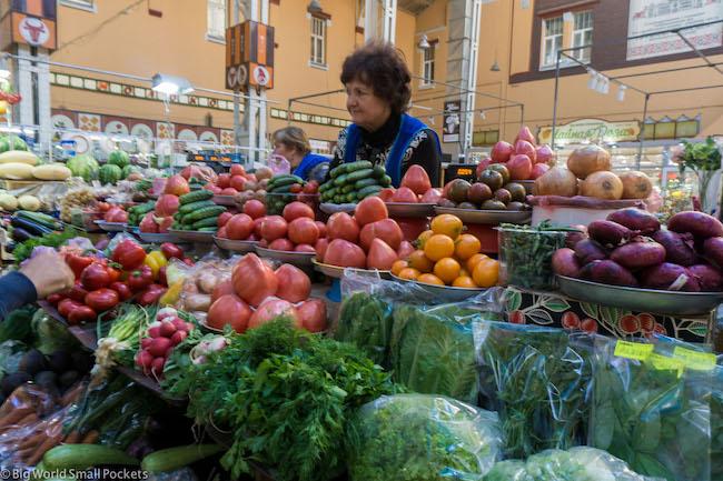 Ukraine, Kiev, Market Stall