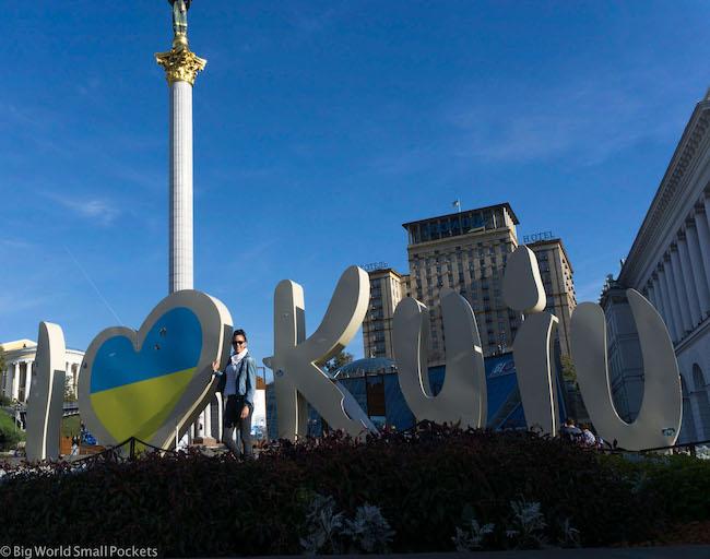 Ukraine, Kiev, Sign