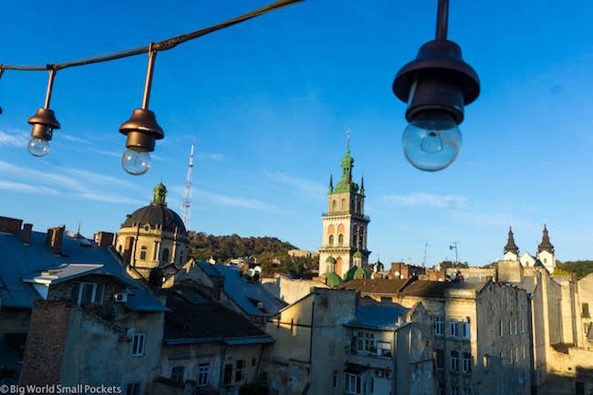 Ukraine, Lviv, Skyline