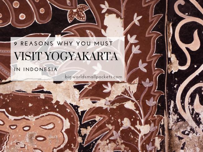 Yogyakarta in Indonesia