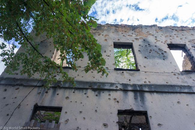 Bosnia, Mostar, War Building