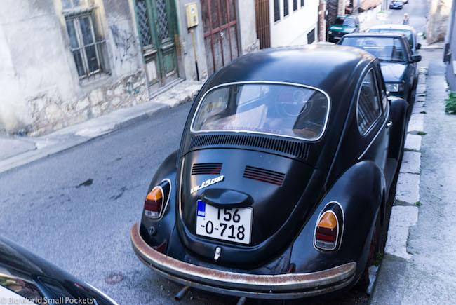 Bosnia, Sarajevo, VW Beetle