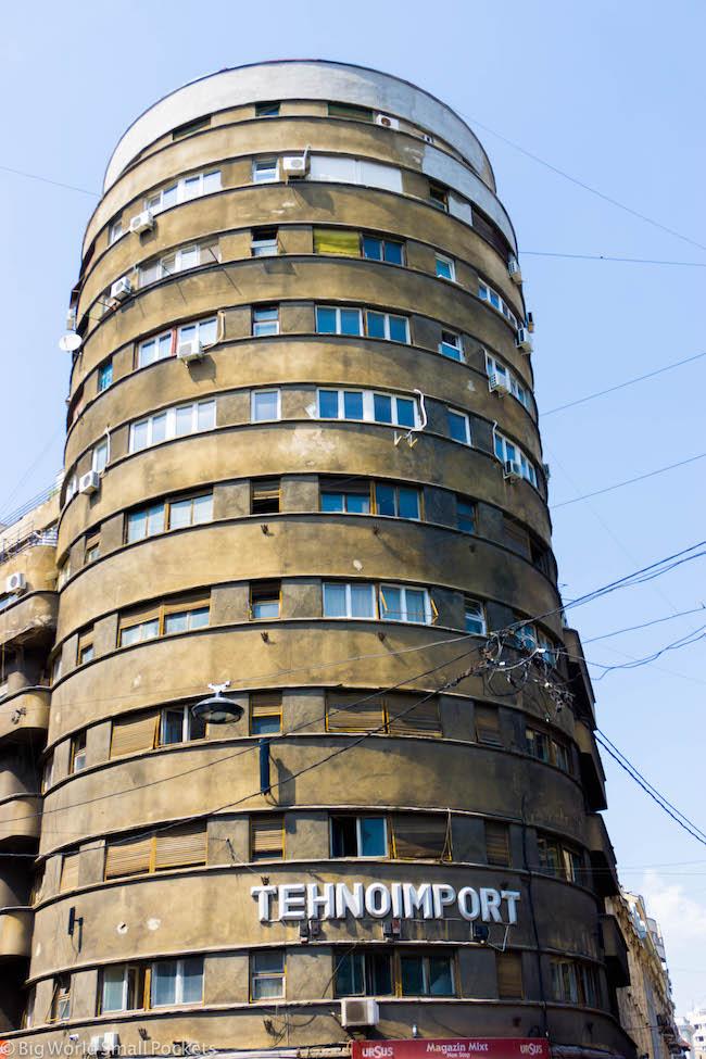 Romania, Bucharest, Tower