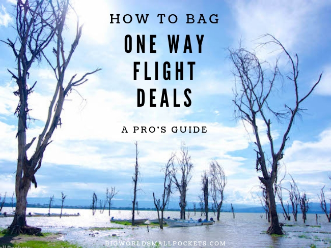 How to Bag One Way Flight Deals