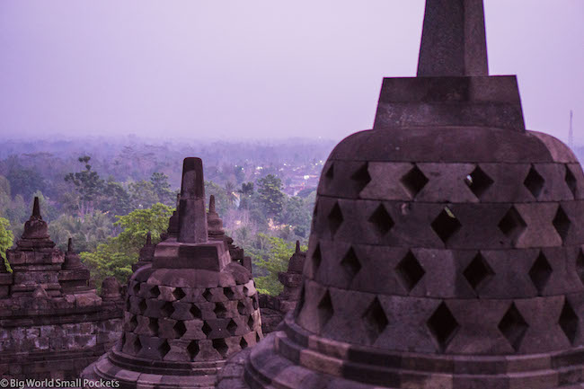 Indonesia, Borobudur, Sunrise
