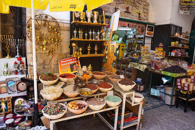 Israel, Jerusalem, Market Stall