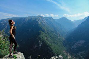 Lebanon, Aakkar, Me at Lookout