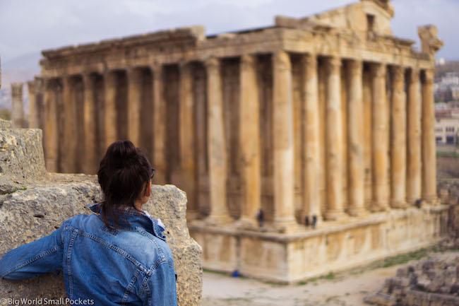 Lebanon, Baalbeck, Temple & Me